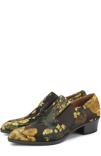 Парчовые ботинки на устойчивом каблуке Dries Van Noten