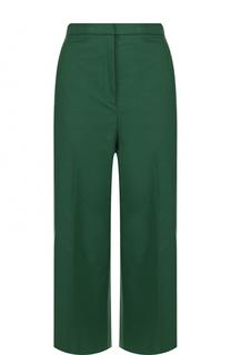 Укороченные расклешенные брюки со стрелками Rochas
