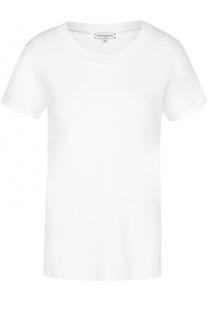 Хлопковая футболка прямого кроя с круглым вырезом Natasha Zinko