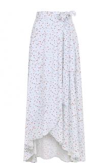 Юбка асимметричного кроя с цветочным принтом Denim&Supply by Ralph Lauren