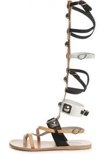 Кожаные сандалии High Gladiator Ancient Greek Sandals