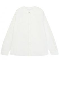 Блуза из хлопка с декором Chloé