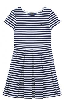Платье джерси в полоску Polo Ralph Lauren