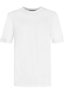 Хлопковая футболка с круглым вырезом 3.1 Phillip Lim