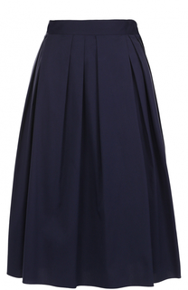 Хлопковая юбка-миди со складками Windsor