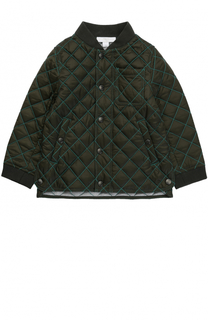 Куртка с контрастной прострочкой Burberry