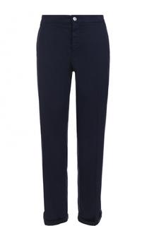 Укороченные джинсы с отворотами и карманами Escada Sport
