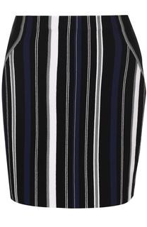 Вязаная мини-юбка в контрастную полоску 3.1 Phillip Lim