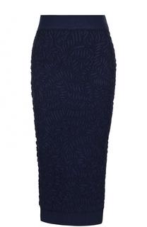 Вязаная юбка-карандаш с фактурной отделкой Michael Kors