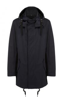 Хлопковая куртка на молнии с капюшоном Lanvin