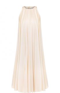 Платье свободного кроя без рукавов Lanvin