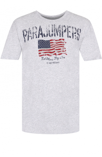Хлопковая футболка с принтом Parajumpers
