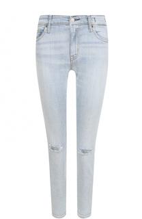 Укороченные джинсы-скинни с потертостями Denim&Supply by Ralph Lauren