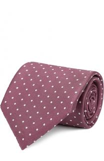 Шелковый галстук с узором Polka Dot Pal Zileri