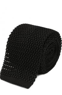 Шелковый вязаный галстук Pal Zileri