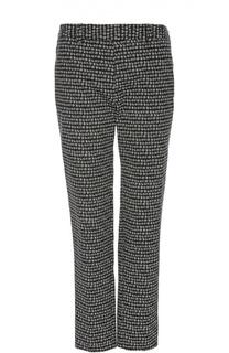 Прямые брюки с контрастным принтом Gerard Darel