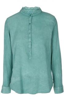 Блуза с воротником-стойкой и кружевной отделкой Zadig&Voltaire Zadig&Voltaire