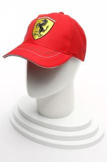 "Бейсболка ""Персоналайзд Визор"" Ferrari"