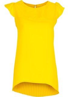 Блузка (ярко-желтый) Bonprix