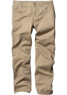 Прямые классические брюки, cредний рост U + S (бежевый) Bonprix