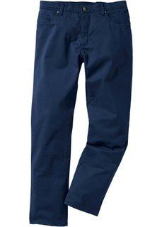 Брюки-стретч Slim Fit Straight, низкий + высокий рост U + S (темно-синий) Bonprix