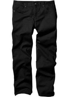 Прямые классические брюки, cредний рост N (черный) Bonprix