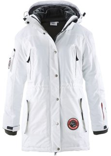 Функциональная куртка в стиле три в одном (цвет белой шерсти) Bonprix