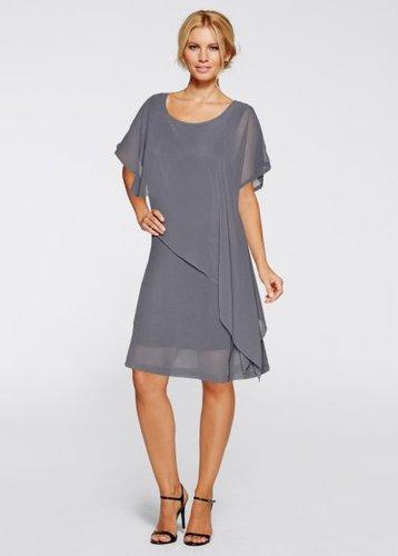Платье (серый)