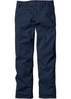 Классические брюки-стретч, низкий + высокий рост (U + S) (темно-синий) Bonprix