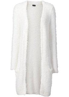 Кардиган (цвет белой шерсти) Bonprix