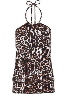 Топ (леопардовый коричневый) Bonprix