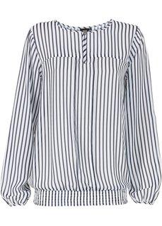 Блуза (темно-синий/белый в полоску) Bonprix