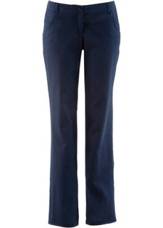 Льняные брюки (темно-синий) Bonprix
