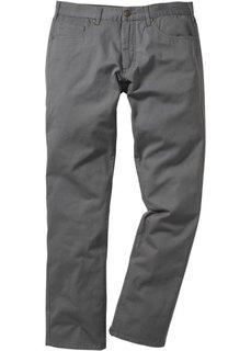 Прямые классические брюки, cредний рост N (дымчато-серый) Bonprix