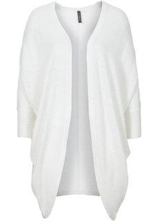 Кардиган в стиле оверсайз (цвет белой шерсти) Bonprix