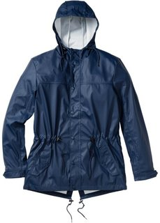 Дождевик-парка Regular Fit (темно-синий) Bonprix