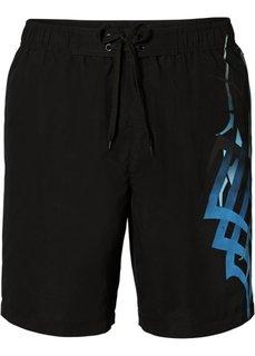 Мужские плавки-шорты (черный) Bonprix