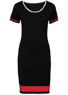 Платье (черный/красный/белый) Bonprix