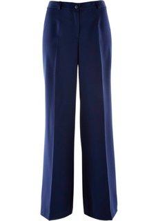 Широкие брюки стретч (темно-синий) Bonprix