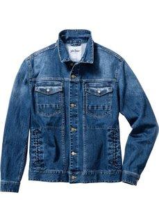 Джинсовая куртка-стретч Regular Fit (темно-синий) Bonprix