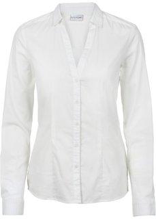 Блузка-стретч (цвет белой шерсти) Bonprix