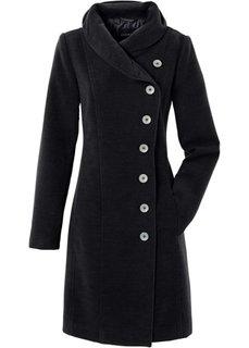 Элегантное пальто (черный) Bonprix