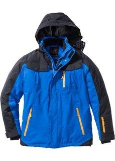 Функциональная зимняя куртка (лазурный/черный) Bonprix