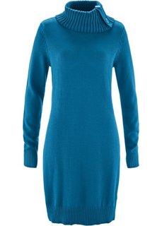 Удлиненный пуловер (атлантический синий) Bonprix