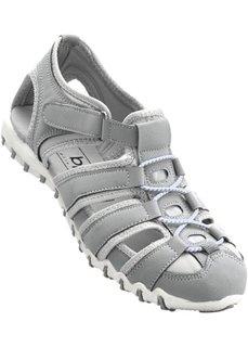 Кроссовки с отверстиями (светло-серый) Bonprix