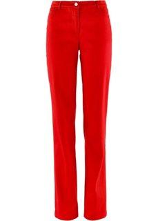 Прямые брюки стретч, cредний рост N (клубничный) Bonprix