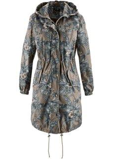 Куртка-парка с рисунком (светло-оливковый с рисунком) Bonprix