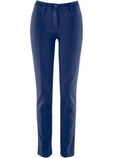 Корректирующие брюки из сатина (темно-синий) Bonprix