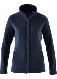 Базовая флисовая куртка (темно-синий) Bonprix