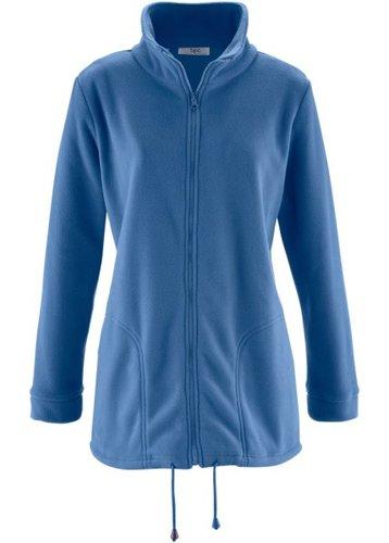 Флисовая куртка (серо-синий)